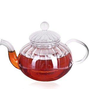 28772 Заварочный чайник стекло 600мл с/кр МВ (х24)
