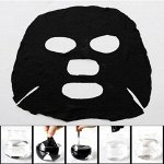 Прессованная бамбуковая древесная маска для лица 1 шт