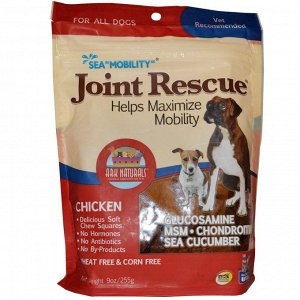 Ark Naturals, Sea  - Mobility - , Joint Rescue, For All Dogs, Chicken, 9 oz (255 g)