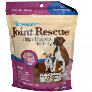 Ark Naturals, Sea  - Mobility - , Joint Rescue, For All Dogs, Beef, 9 oz (255 g)
