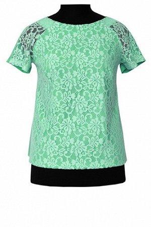 Блуза Б 6-03 зеленый