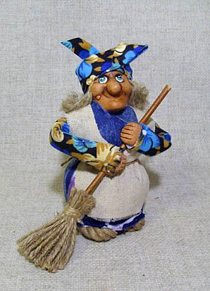 Кукла Баба-Яга малая, М