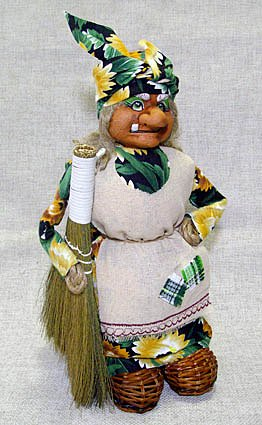 Кукла Баба-Яга большая, М