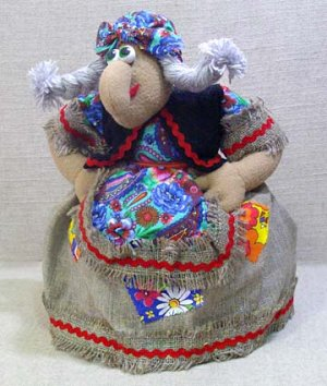 Грелка на чайник Баба-Яга, МП