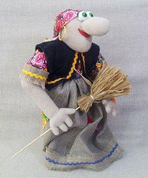 Кукла Баба-Яга на крестовине, МП
