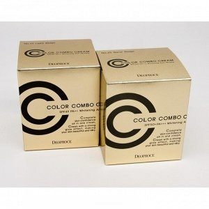 Deoproce Color Combo Cream SPF49/PA++ 40g - СС крем 40г