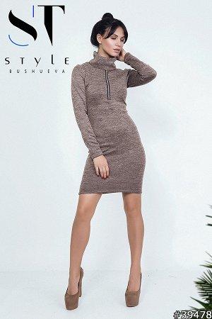 Комплект двойка 39478 (платье+повязка-хомут)