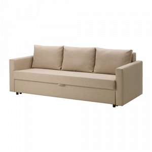 ФРИХЕТЭН 3-местный диван-кровать, Шифтебу бежевый