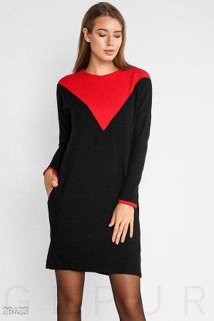 Продам вязанное тёплое платье