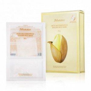 Маска для выравнивания тона JMsolution Lacto Saccharomyces Golden Rice Mask с золотом, рисом и лактобактериями.