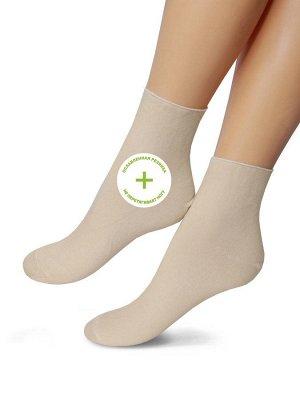 Женские носки-носочки 295 разме 23-25 Черный