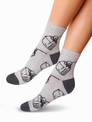 Женские носки-носочки 349 размер 23-25