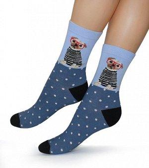 Женские носки-носочки 378 размер 23-25