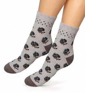 Женские носки-носочки 399 размер 22-24