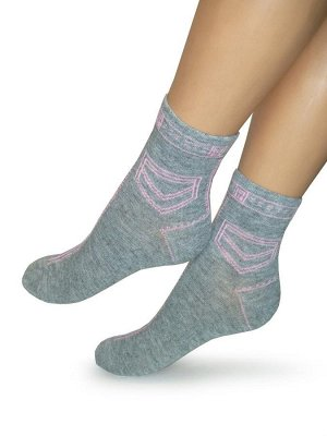 Женские носки-носочки 301 размер 23-25