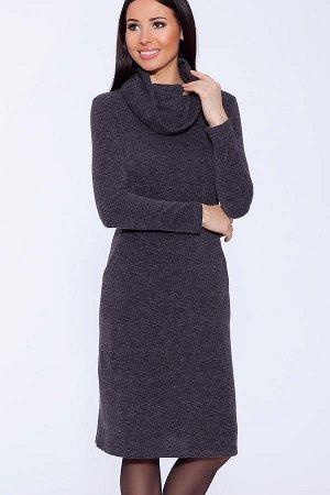 Платье (VISERDI) Темно-серый-Одежда от Росс пост
