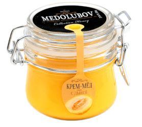Крем-мёд Медолюбов с дыней (бугель) 250мл