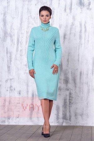 Вязаное платье VAY (Россия), размер 44