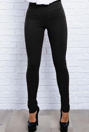 Чёрные штаны стрейч