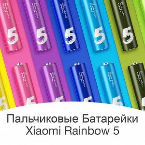 Батарейки пальчиковые Xiaomi Mi Rainbow 5. Размер АА