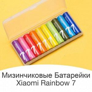Батарейки мизинчиковые Xiaomi Mi Rainbow 7. Размер ААA