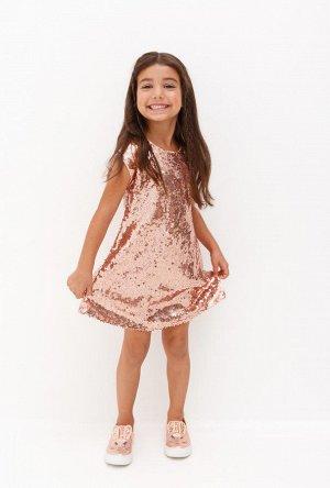 Платье детское для девочек Bagira нежно-розовый