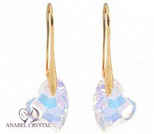 Dora серьги c кристаллами Swarovski