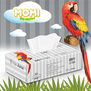 Салфетки-выдергушки Momi Lux сухие, 220 шт.