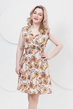 Летнее платье, очень лёгкое! 52 размер