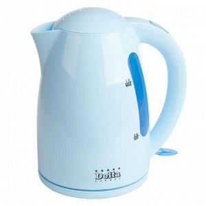 Чайник электрический 1,7л  DL-1302 голубой