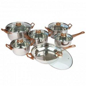 Набор посуды Webber из 12 предметов BE-202/12