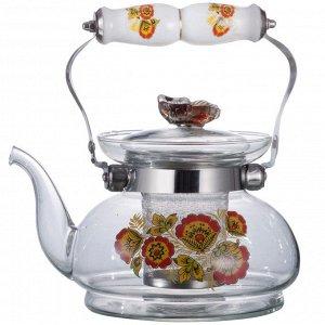 Чайник заварочный 900мл 9050/37 с металлическим фильтром