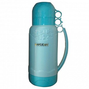 Термос 1,8л Webber 41007/4S голубой