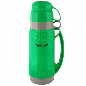 Термос 1,0л Webber 31001/3S зеленый