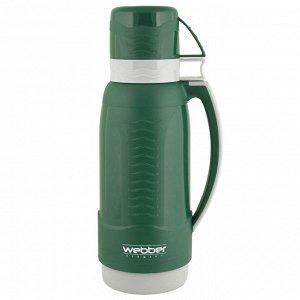 Термос 1,0л Webber 31003/12S темно-зеленый