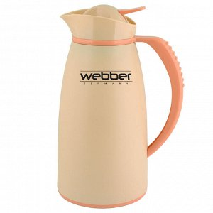 Термос-кувшин 1,0л Webber 31004/5S бежевый