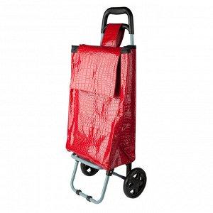 Тележка багажная 30кг D-T125 красная