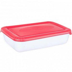 Ёмкость для СВЧ и хранения продуктов прямоугольная 0,9л POLAR MICRO WAVE РТ9671КОРАЛ-20PN