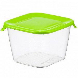 Ёмкость для продуктов 1,5 л ПРАКТИК М1463 салатовая