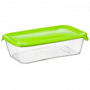 Ёмкость для продуктов 2 л ПРАКТИК М1464 салатовая