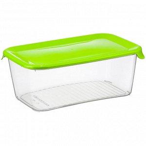 Ёмкость для продуктов 3 л ПРАКТИК М1465 салатовая