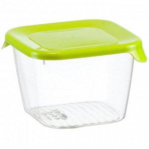 Ёмкость для продуктов 0,45 л ПРАКТИК М1467 салатовая