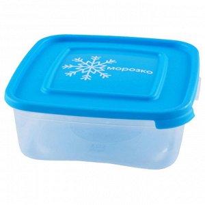 """Комплект контейнеров 0,7л для замораживания продуктов """"МОРОЗКО"""" квадратных 64036"""