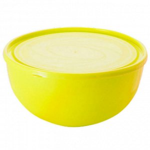 "Салатник ""Galaxy"" 2,5 л с крышкой ПЦ1855ЛМН лимон"