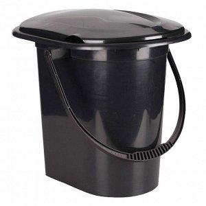 "Ведро-туалет 17л М6355 ""Эконом"""