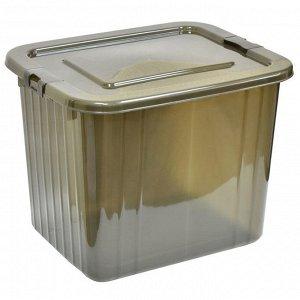 Ящик для хранения 60 л 1760/14 дымчатый