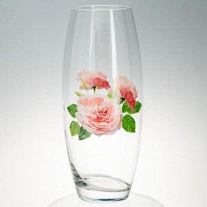 """Ваза для цветов 26 см """"Цветы"""" в ассортименте 43966/01"""