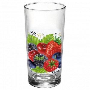 Набор стаканов 250мл 6штук (Ягодный фреш) 146-Д