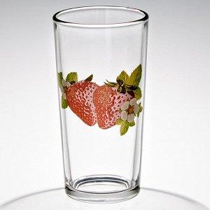 Набор 6 стаканов 230 мл (Клубника) ДСГ12560621