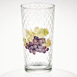 Набор 6 стаканов 230 мл (Виноград) ДСГ12560624
